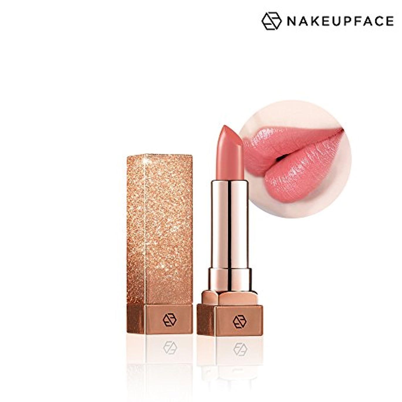 ネイクアップ フェイス [NAKE UP FACE] C-カップ リップトックス スティック(リップスティック) 5 Colors (No.04 Nude Beach)