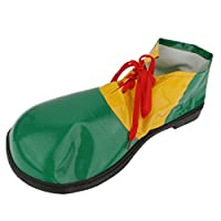 KOZEEYピエロ 大人 子供の靴 グリーン 仮装 楽しい サーカス 衣装アクセサリ カバー