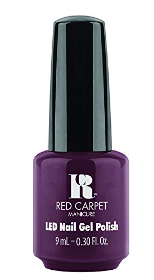 保守可能反論ゲストRed Carpet Manicure - LED Nail Gel Polish - Publicity Stunt - 0.3oz / 9ml