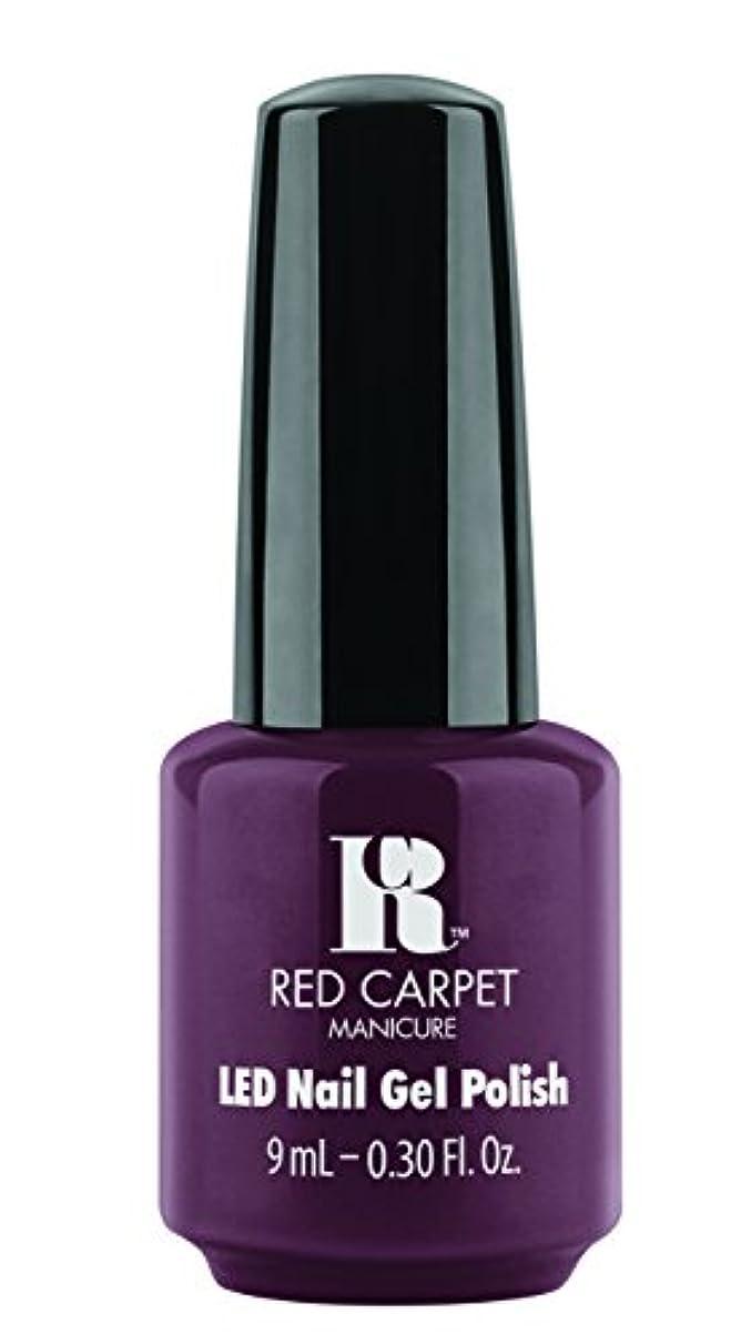 上に電子懸念Red Carpet Manicure - LED Nail Gel Polish - Publicity Stunt - 0.3oz / 9ml