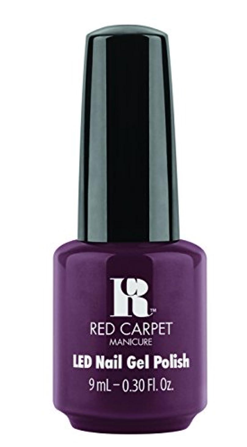 範囲バイオレット定期的にRed Carpet Manicure - LED Nail Gel Polish - Publicity Stunt - 0.3oz / 9ml