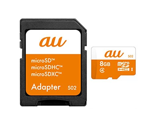 KDDI microSDHCメモリカード 8GB(S02)