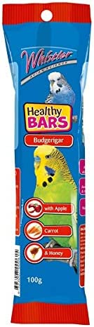 Whistler Avian Science Budgie Healthy Bar Treat 100 g