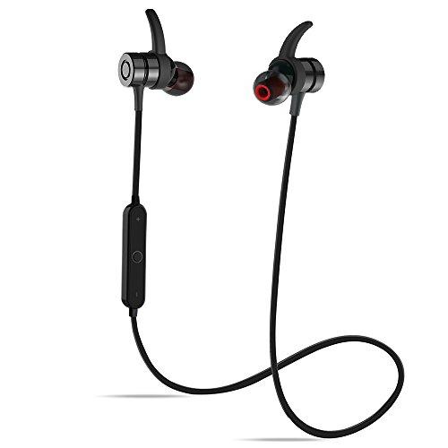 TAROME bluetooth イヤホン ブルートゥース イヤホン 両耳 片耳も対応 高音質 左右分離型 軽量 マイク内蔵 通話可 充電式収納ケース付き iPhone Android 対応 (ブラック1)