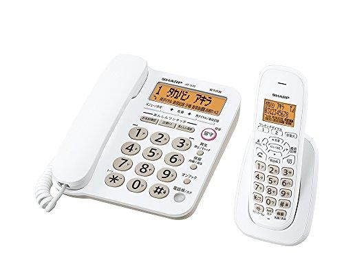 シャープ 電話機 コードレス 子機1台 JD-G32CL...