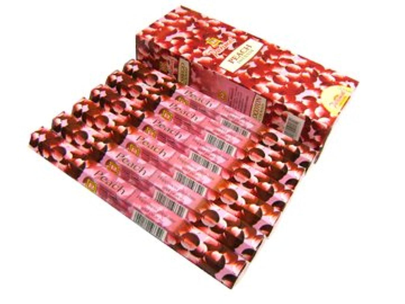 ページェント証人ひいきにするPARIMAL(パリマル) ピーチ香 スティック PEACH 6箱セット