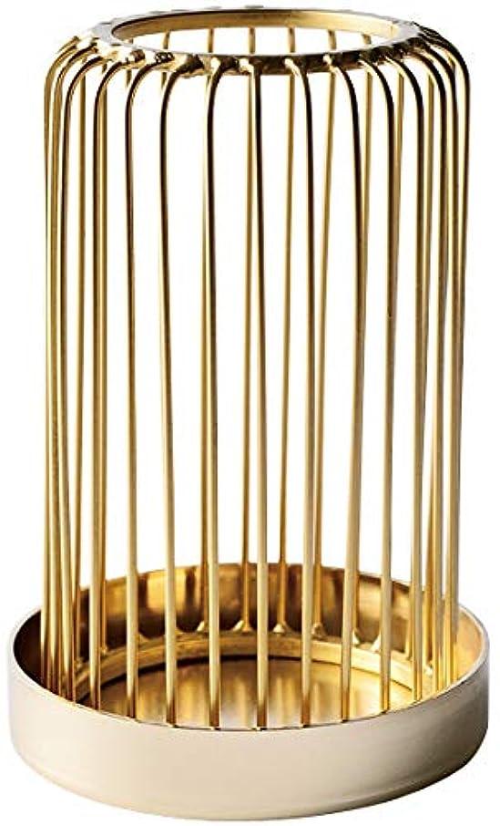 未払い考古学噛むカメヤマキャンドルハウス 燈あかり ゴールド 1個