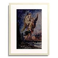 ギュスターヴ・モロー 「Chimare. Um 1870.」 額装アート作品