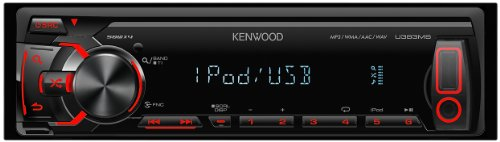 KENWOOD MP3/WMA/AAC/WAV/FLAC対応 USBレシーバー U383MS