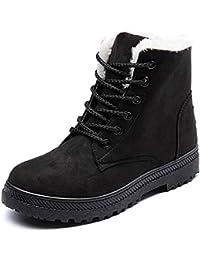 冬用ブーツ ブーツ レディース 滑り止め 防寒 レディーススノーブーツ ムートン ブーツ レディース ショート レースアップブーツ 裏ボア 歩きやす スエード調 厚底 細身 美脚 コーディネートしやすい アウトドア 綿靴 スノーブーツ ムートンブーティー