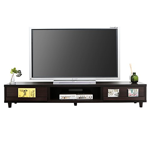 RoomClip商品情報 - LOWYA (ロウヤ) テレビ台 テレビボード 木製 ディスプレイ収納 〜52型 幅180cm ウォルナット