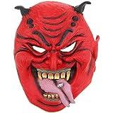 B Blesiya ヘッドマスク 恐ろしいマスク ハロウィーン 仮装 快適 通気性 多仕様選択 - #8