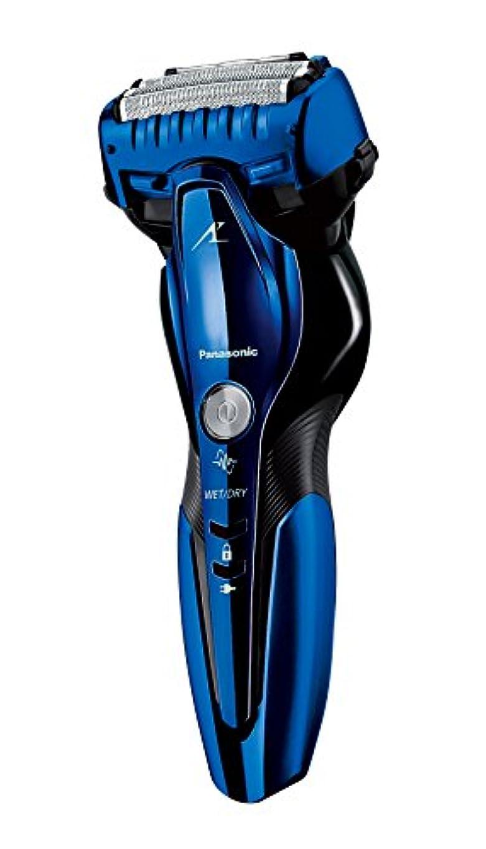 大きなスケールで見るとマスタード栄養パナソニック ラムダッシュ メンズシェーバー 3枚刃 お風呂剃り可 青 ES-CST8Q-A