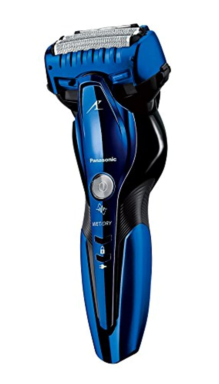 パナソニック ラムダッシュ メンズシェーバー 3枚刃 お風呂剃り可 青 ES-CST8Q-A