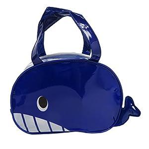 フォルテシモ ビニール ボストン バッグ クジラ ビニールバッグ GDH09