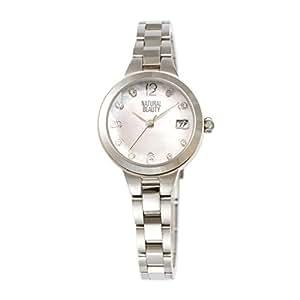 [ナチュラルビューティー] NATURAL BEAUTY 腕時計 ソーラー NB104SPKM レディース