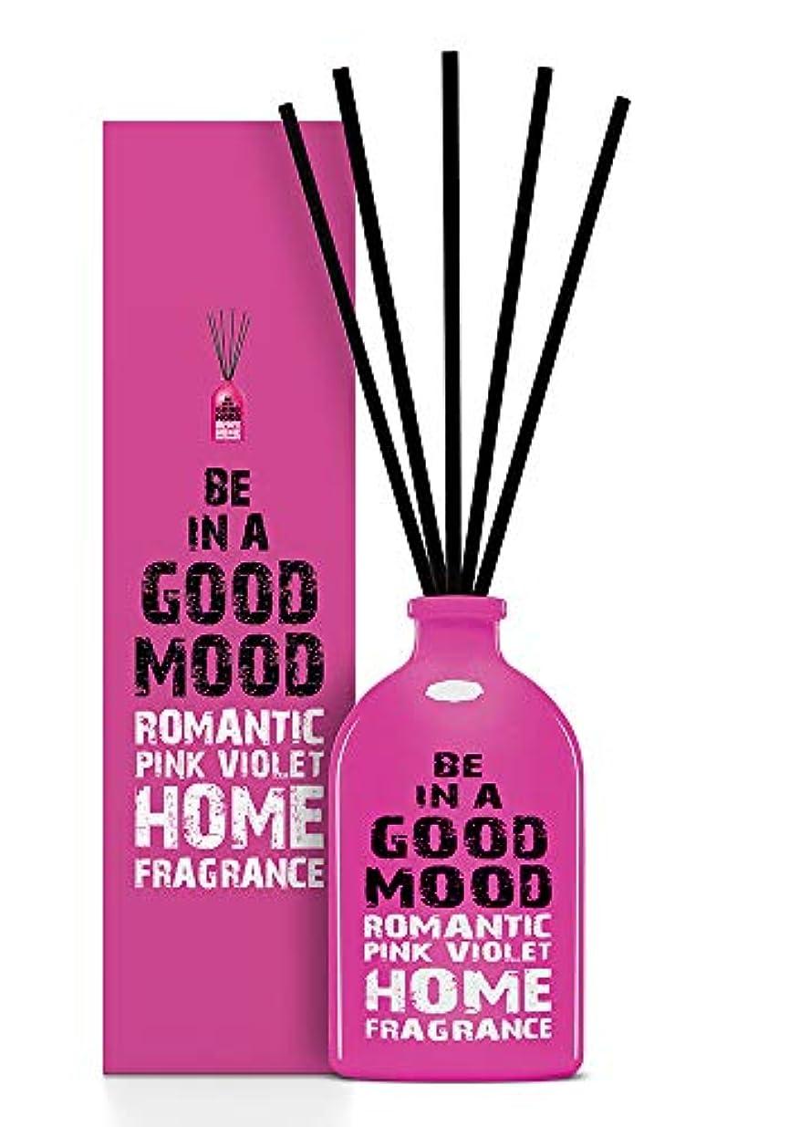 ドキュメンタリーサミット割れ目BE IN A GOOD MOOD ルームフレグランス スティック タイプ PINK VIOLETの香り (100ml)
