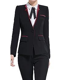 激情女郎 レディース セットスーツ OL オフィス 就活 ビジネス 通勤 リクルート 事務服 長袖 パンツスーツ 無地