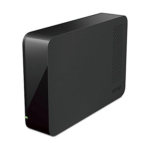 BUFFALO USB3.0用 AV向けドライブ採用 外付けHDD 3TB ブラック HD-LL3.0U3/M