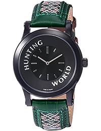 [ハンティングワールド]HUNTING WORLD 腕時計 ソルジャー コラボレーションモデル クォーツ HWS001GR メンズ 【正規輸入品】