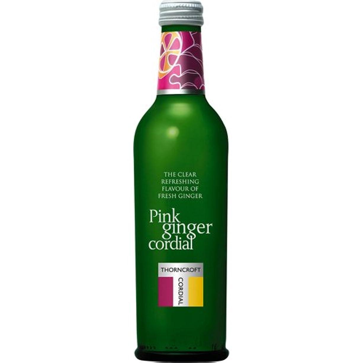 セールスマン谷閉塞ハーブコーディアル ピンクジンジャー 375ml 健康食品 美容サポート 美容ドリンク [並行輸入品]
