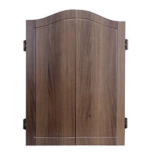ダーツボード 対戦ダーツボード ダーツゲーム 電子ダーツ エレクトリックダーツ セット 音声機能 自動採点式 褐色スタイルの木製の箱