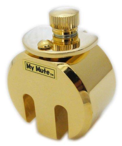 My Mute チェロ用消音器 高級金メッキ仕上げ 重量約260g MM-C