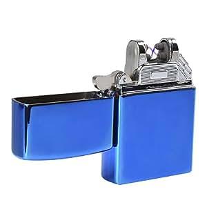 EasyJoy 電子ライター USB 充電式 高級ライター (ブルー)
