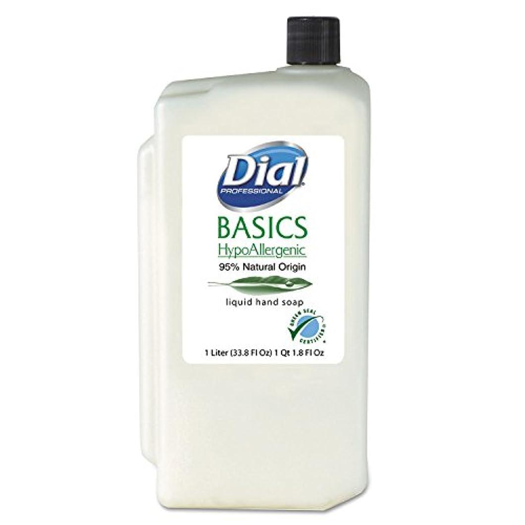 ミンチ才能インフルエンザDIA06046 - Basics Hypoallergenic Liquid Soap, Rosemary amp; Mint, 1 Liter Refill by Dial