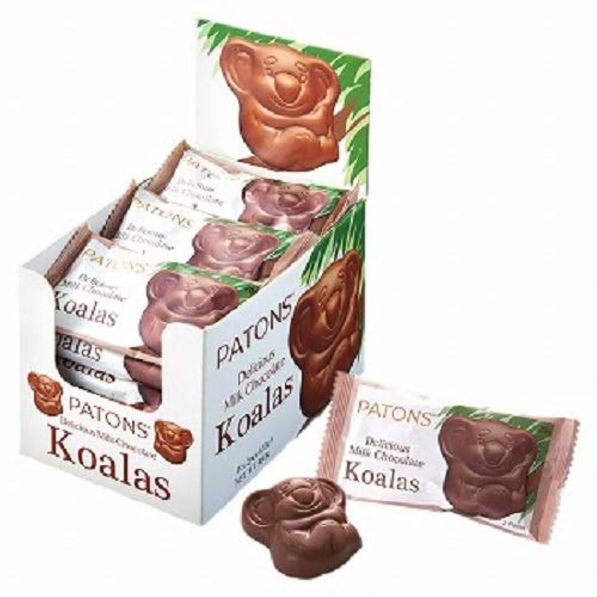 恩赦引用結紮ペイトンズ(patons) コアラチョコレートツインパック 18袋セット【オーストラリア 海外土産 輸入食品 スイーツ 】