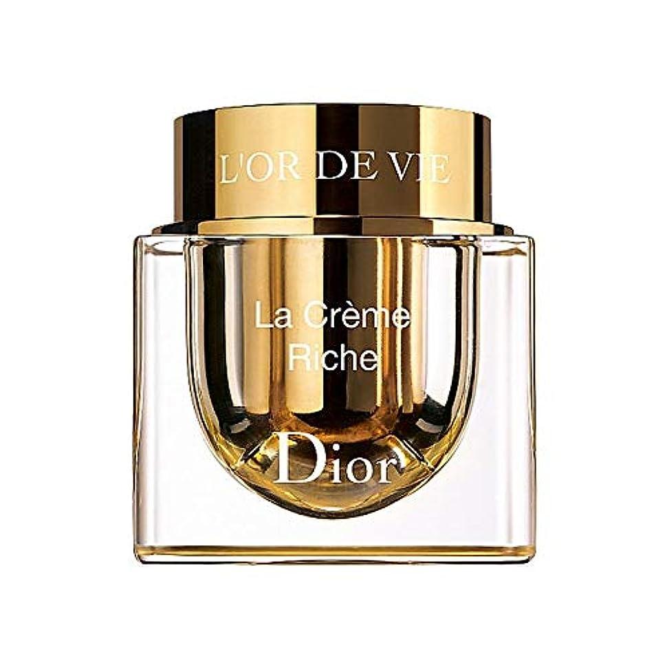 押す自宅でカートン[Dior] ディオールL'またはデは、詰め替え可能な豊富なラ?クレームを争います - Dior L'Or De Vie La Cr?me Rich Refillable [並行輸入品]