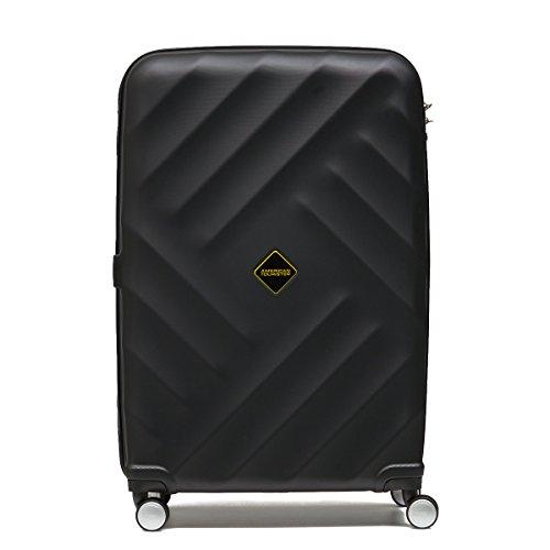 アメリカンツーリスター サムソナイト スーツケース Samsonite (GRAVITY・グラビティ・AN8*006) 66cm (Mサイズ)(キャリーバッグ) (ブラック)