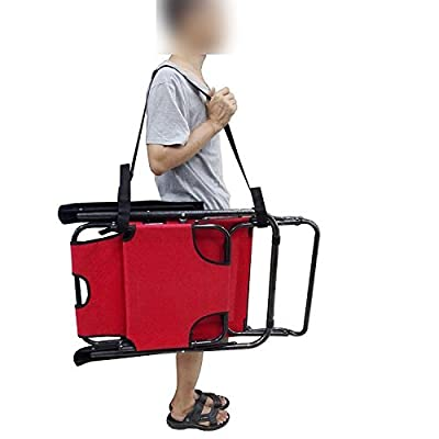 YYST 2 X Adjustable Beach Chair Carry Strap Universal Folding Chair Carry Strap Bed Chair Carry Strap - 2 Straps Per Pack (Chair Not Included)