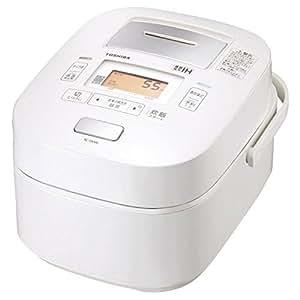 東芝 真空圧力IHジャー炊飯器(5.5合炊き) パールホワイトTOSHIBA 真空圧力かまど炊き(真