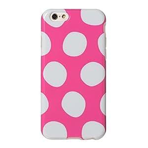 &y アンディ Nordipple iPhone 6 6s 対応 4.7インチ ソフト TPUケース 光沢タイプ オオキナミズタマ ピンク × グレー (NP103)
