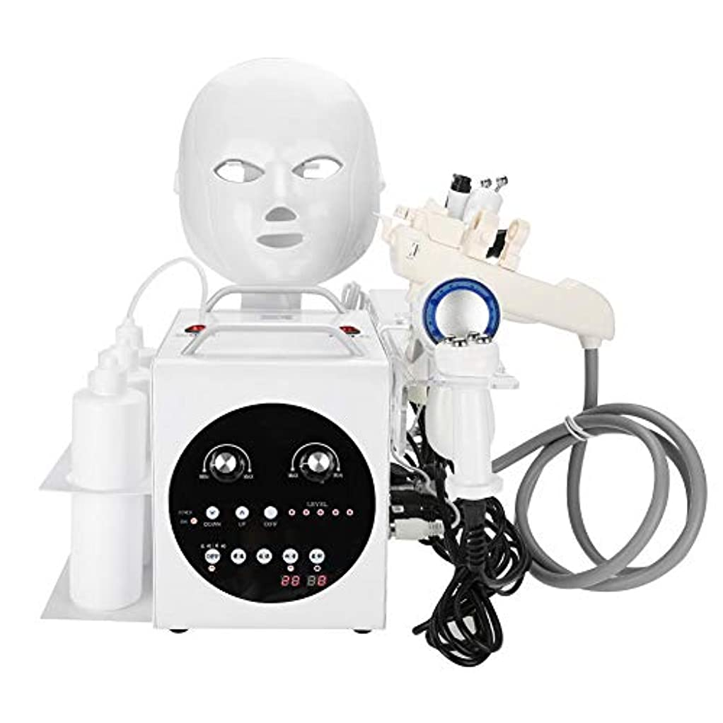 メイド儀式寺院9黒毛のしわの除去、肌の引き締め、美白、肌の若返り、ホームサロンの使用のためのケアの超音波真空RF機械をきつく締める1つの酸素のジェット機に付き9つ(110-240V)