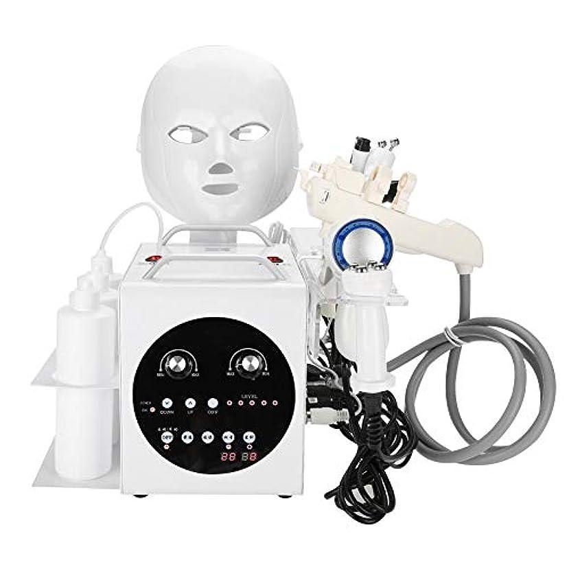 邪魔する慣れる皮9黒毛のしわの除去、肌の引き締め、美白、肌の若返り、ホームサロンの使用のためのケアの超音波真空RF機械をきつく締める1つの酸素のジェット機に付き9つ(110-240V)