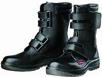 [ドンケル] Dynasty 安全靴 ブーツ マジック PU二層底 耐滑 かかと衝撃吸収 JIS T8101革製 S種E・F合格(D式) D-7054  D-7054 ブラック ブラック 27