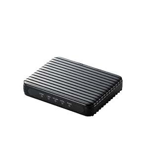 Logitec 11n/g/b Android用無線ルータ/内蔵アンテナ/ブラック LAN-W150N/RSPB