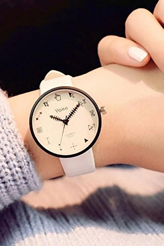 Generic Small Freshクリエイティブ人格韓国レディースガールズLady学生腕時計ときカジュアルレトロミニマリストトレンドLN