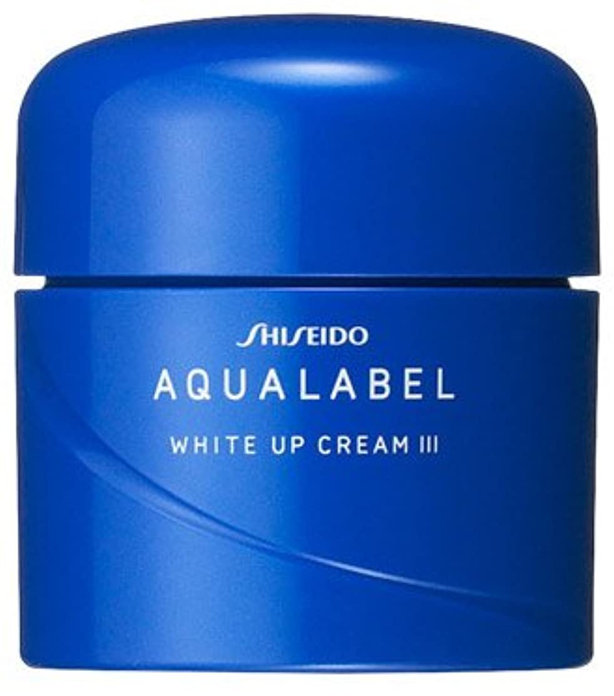 想定重々しい雄弁な資生堂 アクアレーベル ホワイトアップクリーム(III)(医薬部外品)《50g》
