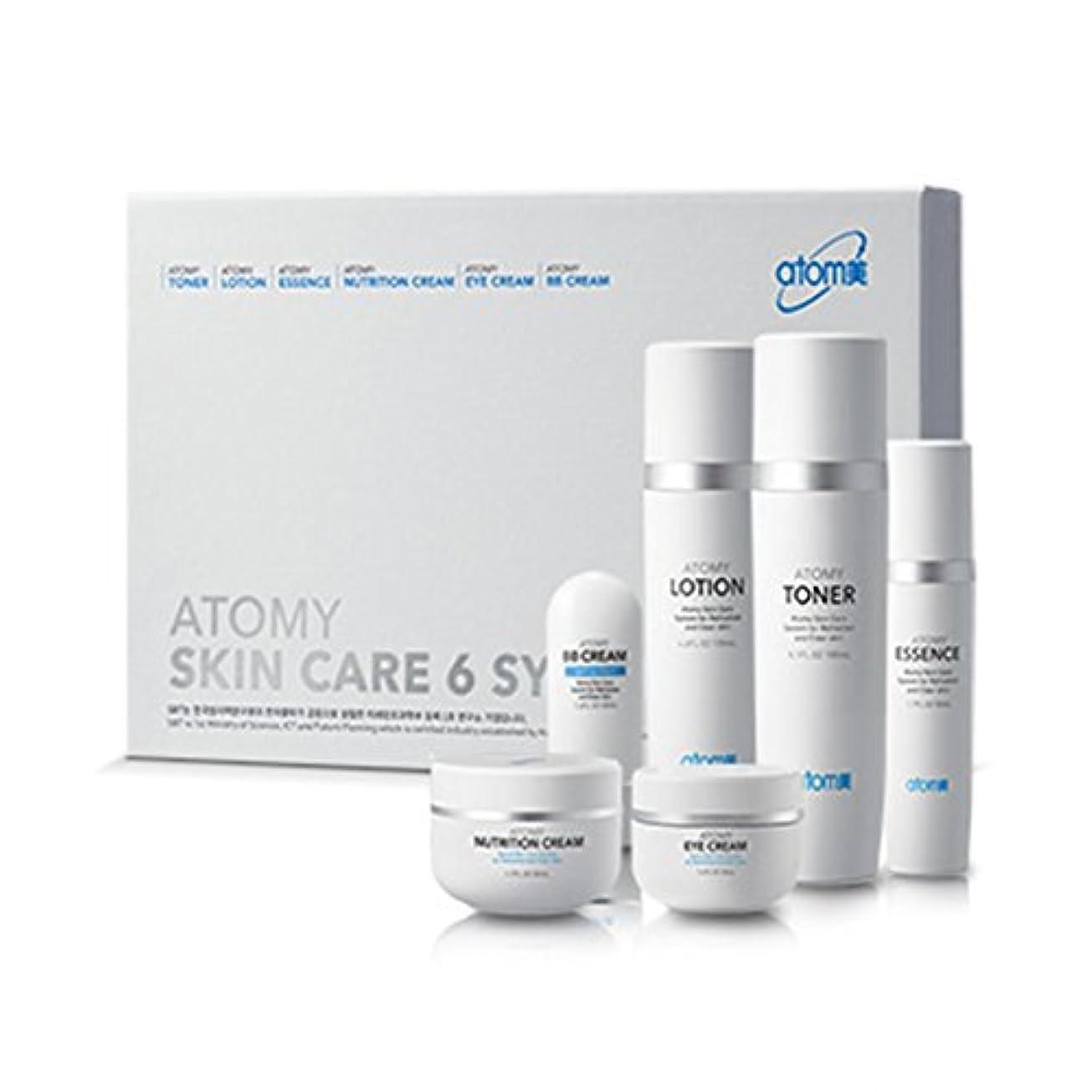 地理特別に維持する[Atom美 アトミ/ Atomy] Atomi Skin Care 6 System/スキンケア6システム+[Sample Gift](海外直送品)