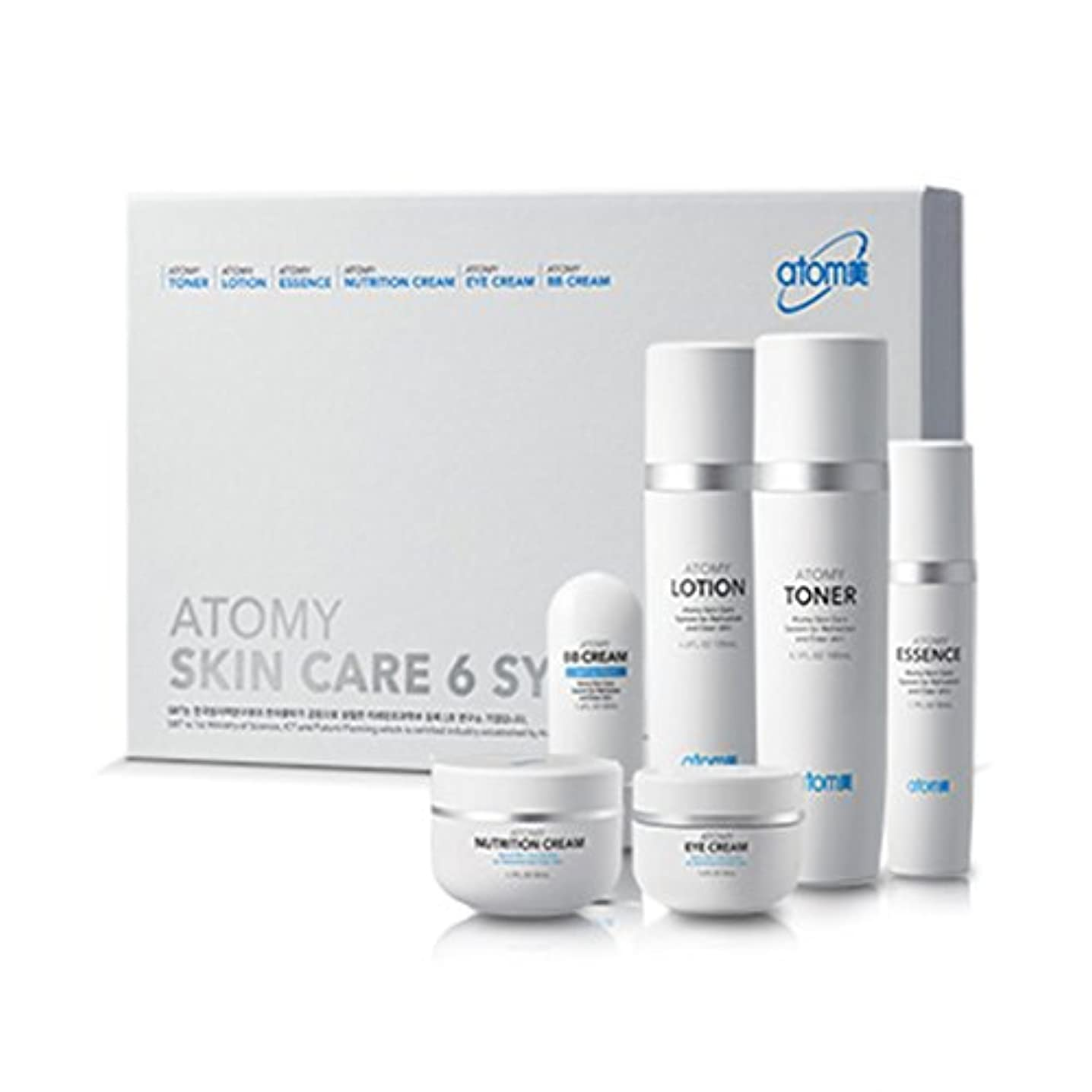 威信エンジニア支払う[Atom美 アトミ/ Atomy] Atomi Skin Care 6 System/スキンケア6システム+[Sample Gift](海外直送品)
