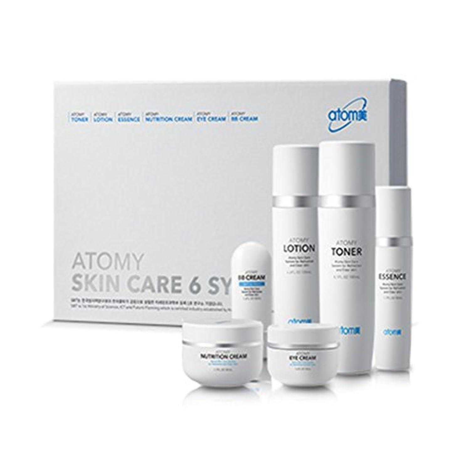 大臣精神殺人[Atom美 アトミ/ Atomy] Atomi Skin Care 6 System/スキンケア6システム+[Sample Gift](海外直送品)