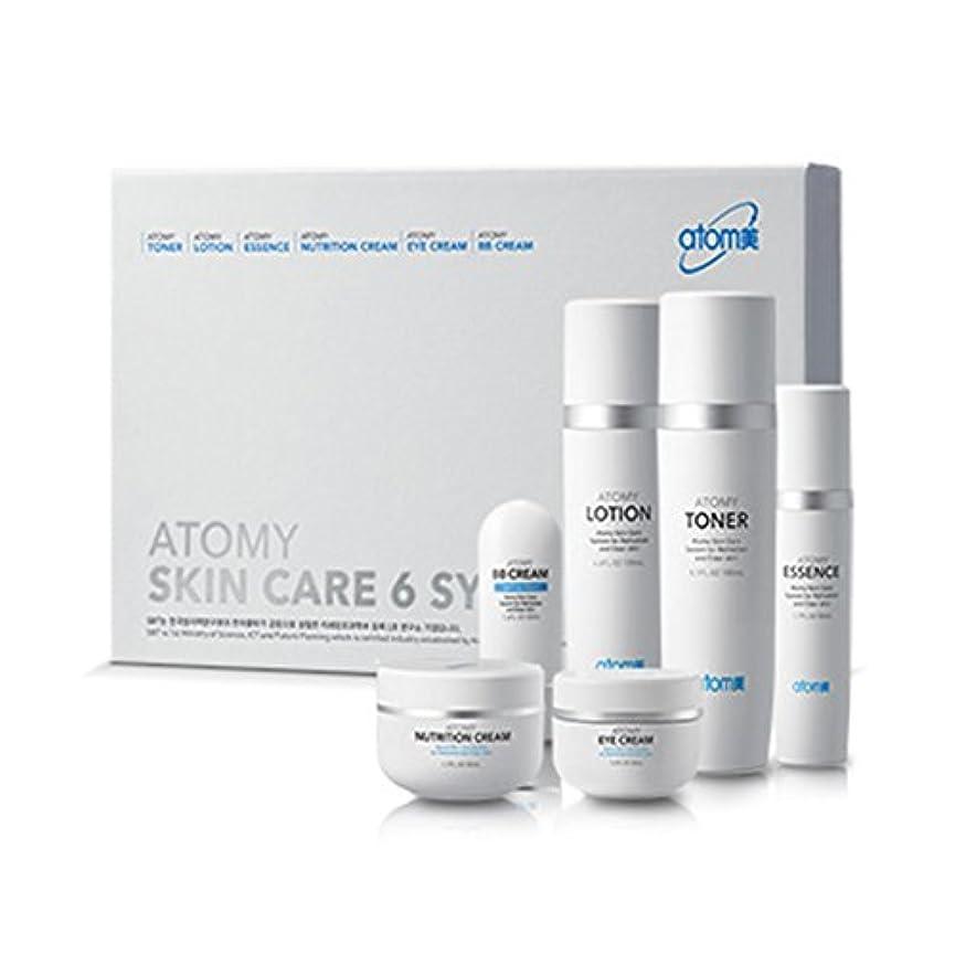 通り抵抗バンカー[Atom美 アトミ/ Atomy] Atomi Skin Care 6 System/スキンケア6システム+[Sample Gift](海外直送品)