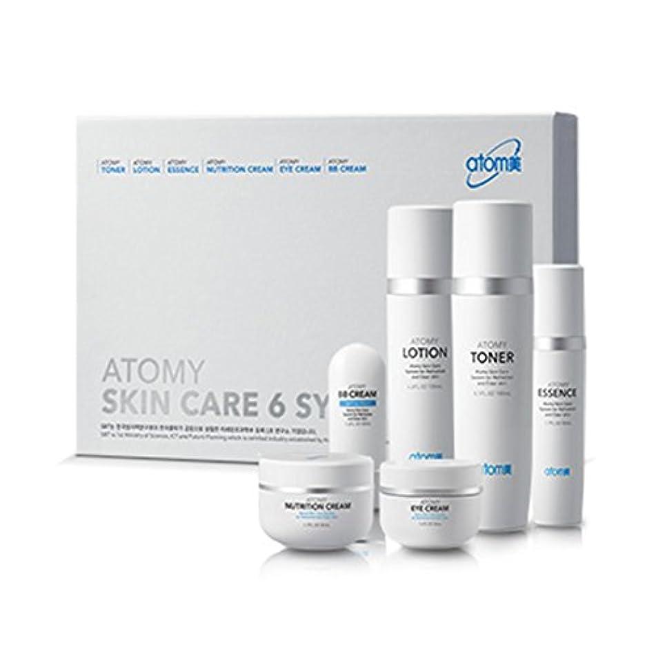 離婚パシフィック針[Atom美 アトミ/ Atomy] Atomi Skin Care 6 System/スキンケア6システム+[Sample Gift](海外直送品)