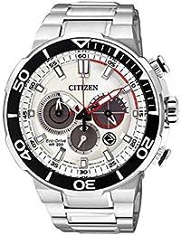 [CITIZEN]シチズン ソーラー腕時計 エコドライブ 200m防水 クロノグラフ メンズ CA4250-54A [並行輸入品]
