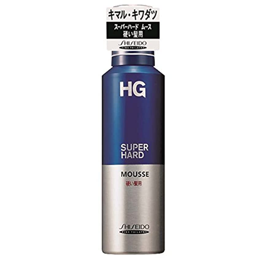 カプラーピストル証明するHG スーパーハード ムース 硬い髪用 180g