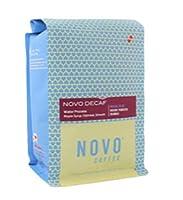 "Novo Coffee ""Novo Decaf"" Medium Roasted Whole Bean Coffee - 5 Pound Bag"