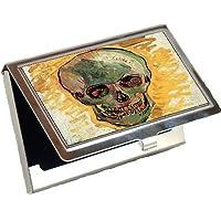 スカルby Vincent Van Goghビジネスカードホルダー
